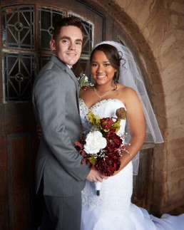 Wedding photos for Taylor and Danielle Dunn photographed by Paul Davis Photography in Tucson, Arizona.