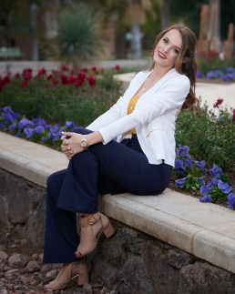 Senior Portrait Session with Paul Davis Photography. Shot on location in Tucson, Arizona.