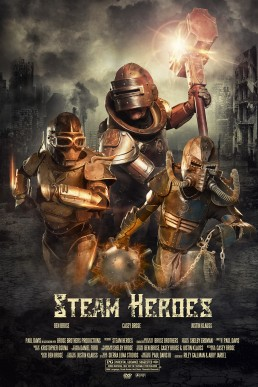 Steam Heroes: Movie Poster shot for Brose Brother's Productions. A steampunk themed movie poster concept shot by Paul Davis Photography