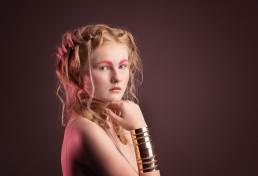 Studio beauty portrait shot by Paul Davis Photography, Tucson, Arizona