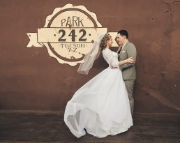 Wedding photographed at 242 Park Avenue in Tucson, Arizona by Paul Davis, Photographer