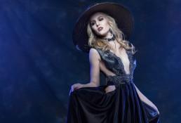 Dark fashion, fashion shot for Tucson clothing designer Esteban by Paul Davis Photography, Tucson, Arizona.