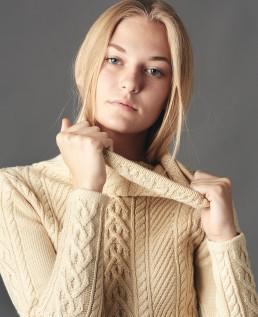 Fashion portrait session with Ella taken in the studio by Paul Davis Photography, Tucson, Arizona.