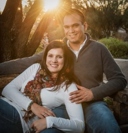 Engagement session with Katie and Marco at Tohono Chul Park, photographed by Paul Davis Photography, Tuson, Arizona