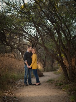 Engagement session with Matt and Jen Warnstedt shot on location by Paul Davis Photography, Tucson, Arizona.