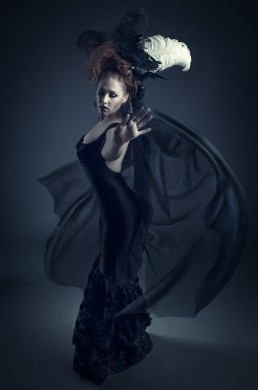 Gothic Portrait session with Sheila Eden photographed by Paul Davis Photography, Tucson, Arizona