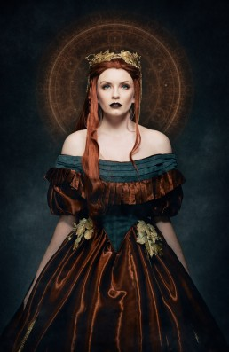 Eminence Divine - A fantasy portrait by Paul Davis Photography