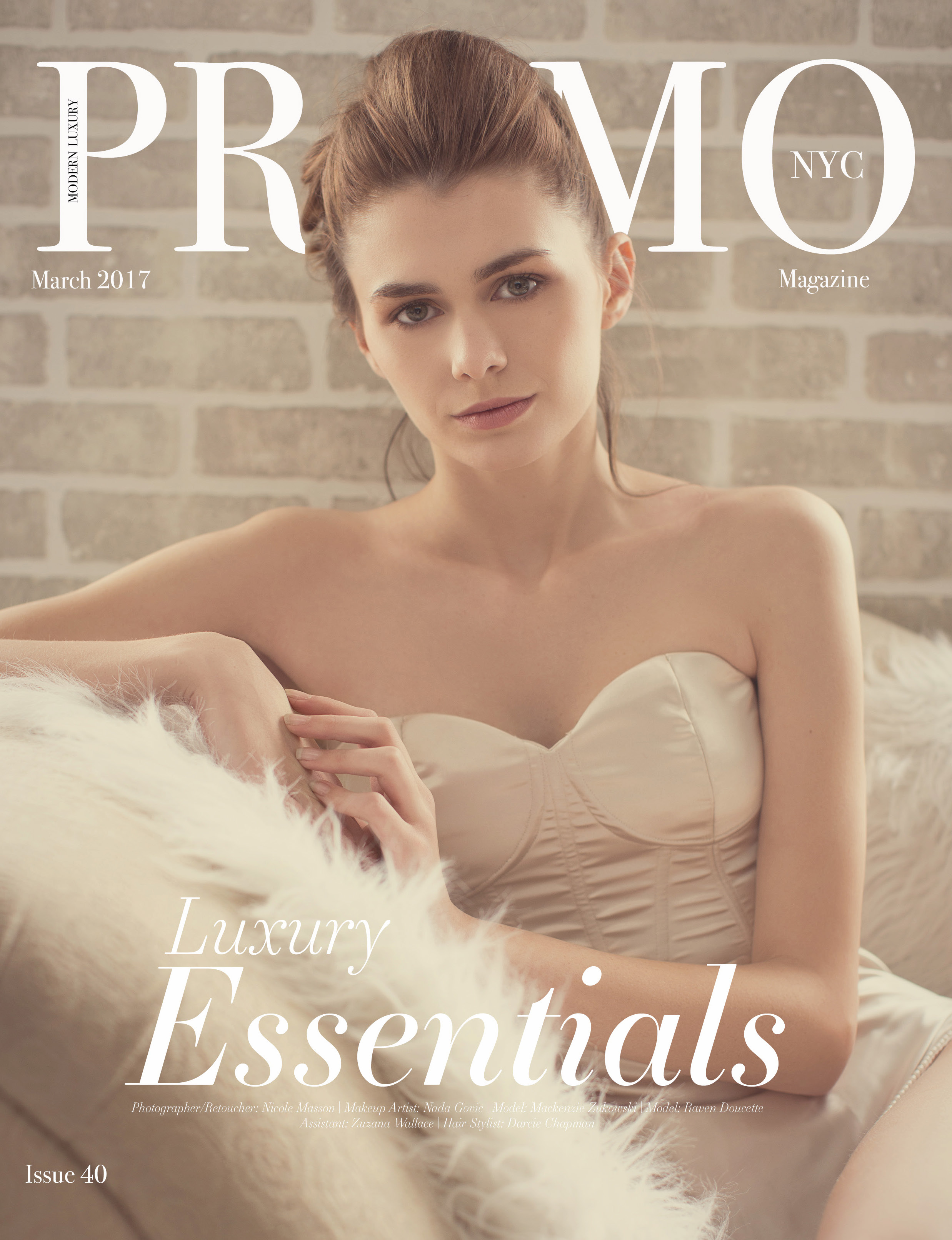 Modern Essentials: a fashion editorial published in PROMO Fashion Magazine photographed by Paul Davis Photography
