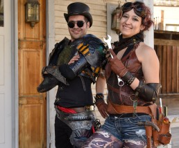 Portraits taken at the Wild Wild West Steampunk Convention in March, 2017 at Old Tucson Studios in Tucson Arizona. Photographed by Paul Davis Photography