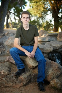 Seniors photography: Tyler's senior photo session. Photos taken by Paul Davis Photography in Tucson, Arizona.