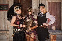 Photos taken at the 2018 Wild Wild West Steampunk Convention at Old Tucson Studios by Paul Davis Photography.