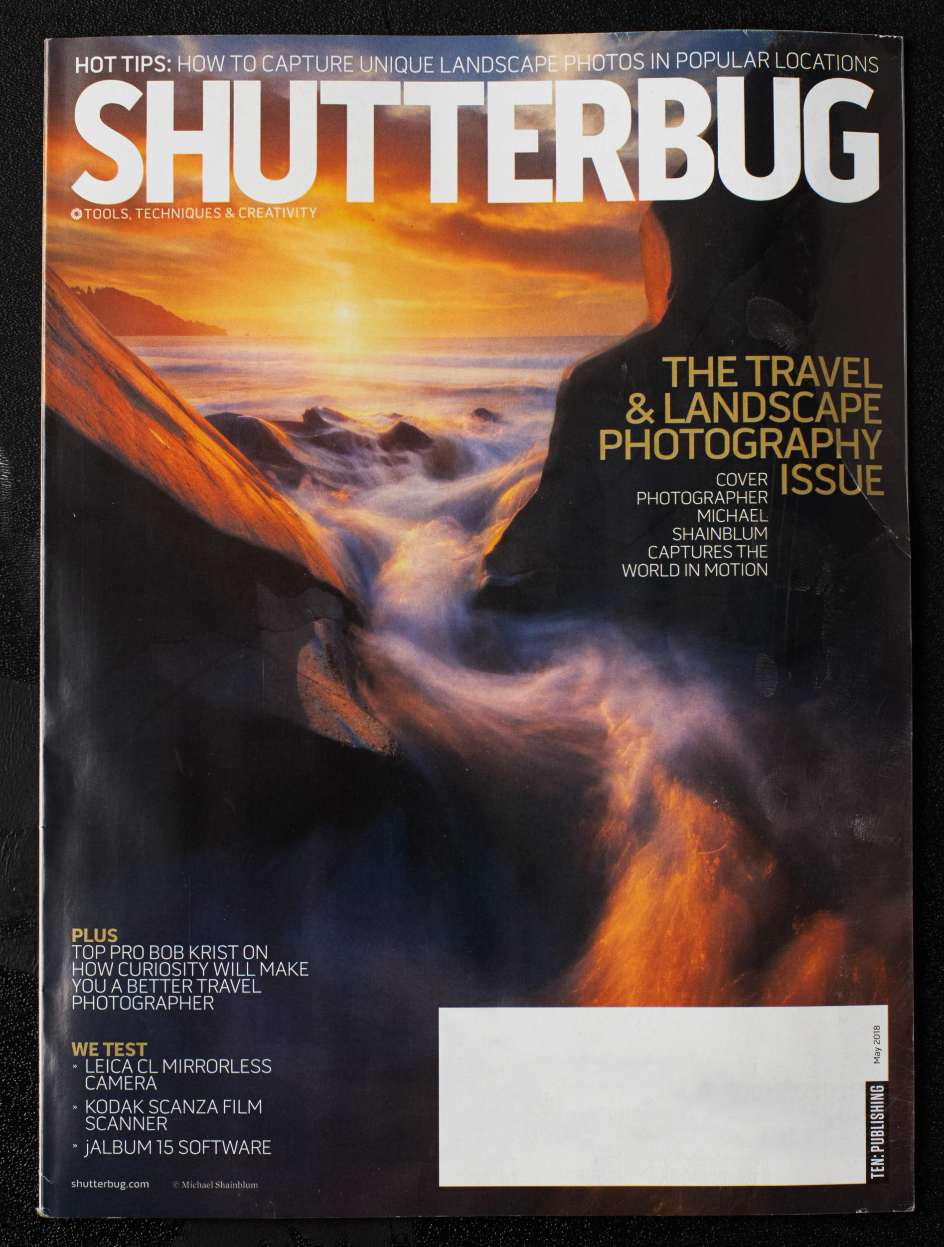 Paul C. Buff ad featuring photography from Paul Davis Photography in the May 2018 issue of Shutterbug magazine.