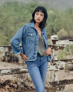 Fashion portrait session with Alejandra taken in the studio by Paul Davis Photography, Tucson, Arizona