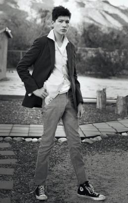 Fashion Portrait Session with James - Photographed by Paul Davis, a Tucson Photographer.