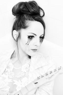 Belinda Esquer photographed by Paul Davis Photography on location at Hotel Congress, Tucson, Arizona.