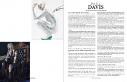 Surreal Beauty Magazine: Interview with photographer Paul Davis for the Sept. 2017