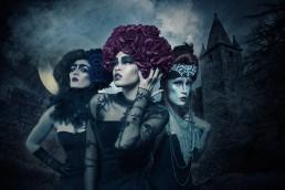 Halloween themed character poster created by Paul Davis Photography, Tucson, Arizona.