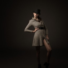 Fashion studio portrait session with Sara and Laura. Photographed by Paul Davis Photography, Tucson Arizona.