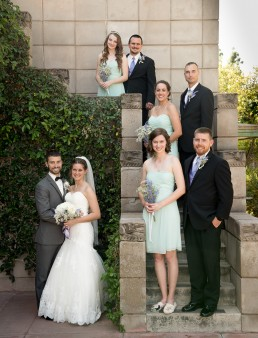 Adam and Lindsey's wedding photographed at the Arizona Biltmore Resort in Phoenix, Arizona by Paul Davis Photography
