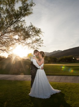 Matt and Jen's wedding photos taken at Arizona National Golf Club in Tucson, Arizona by Paul Davis Photography