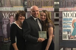 2015 award ceremony for Tucson Model Magazine. Paul Davis Photography won the Creative Photography Award.