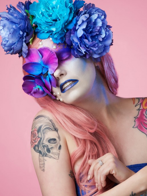 Beauty portraits created in collaboration with Kristopher Osuna of Perfection Artistry.